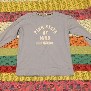 Light blue Pink Brand Sweater